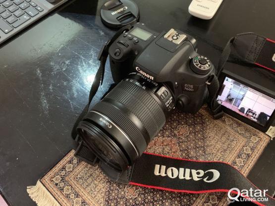 Canon 760D DSLR