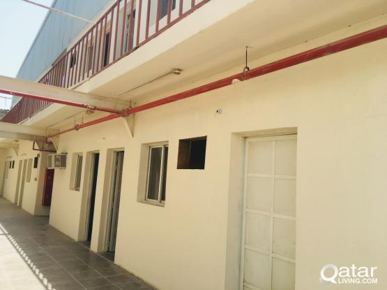 Brand new condition labor camp very spacious 48 and 30 rooms available at street 44 and 38 industrial area