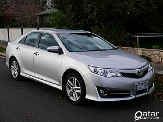 THIS OFFER ONLY FROM US (COUNTRY RENT A CAR) TOYOTA CAMRY 2015 MODEL JUST 80 QR PER DAY (MINIMUM 10 DAYS)
