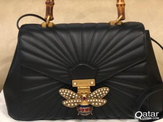 Preloved High End Replica Gucci Margaret Bag