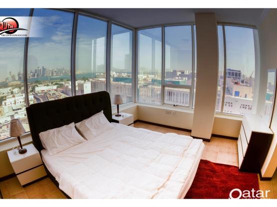 Spacious 2- BHK Fully Furnished Apartment: Musherib