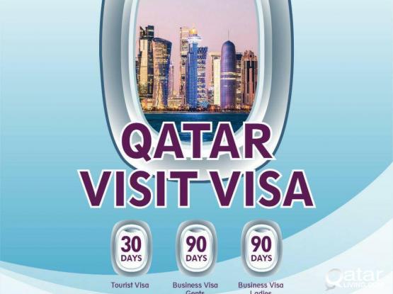Qatar 3,6,9 Months Visit Visa & Tourist Visa 30 & 60 Days (Low rate) - 66709238