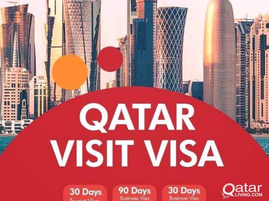 Low Rate Visit Visa 3,6,9 Months & Tourist visa (30,60 Days) to Qatar Authorized - 66709238