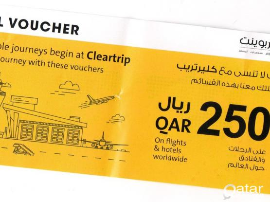 Cleartrip Travel Voucher