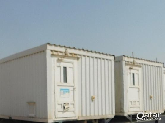 Used Portacabin & Used Toilet Containers