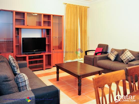 NO COMMISSION 2 BR- FULLY FURNISHED APARTMENT (1 MONTH RENT FREE)