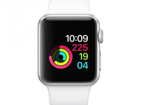 Apple Watch series 4silver color with 6 straps