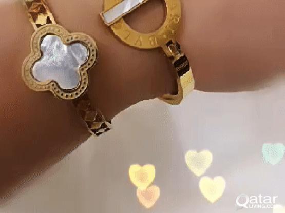 BVLGARI bangle bracelets