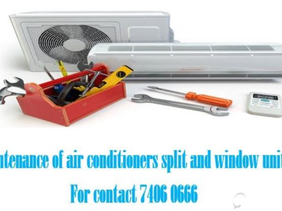 A/C Maintenance ( Split and window devices )