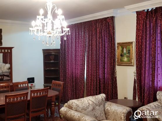 3bhk fully furnished at mansora spacious شقه مفروشه بالمنصوره ٣ غرف مساحات كبيره