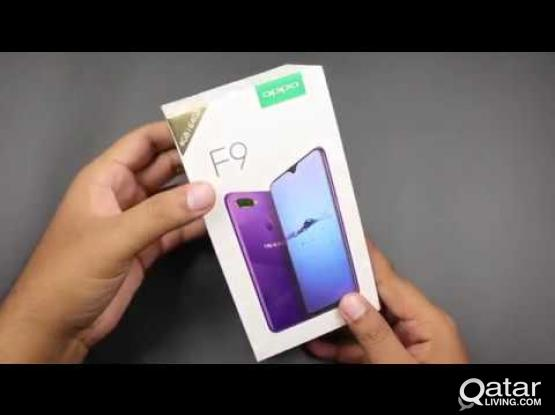 OPPO F9 gradient black color (Indian Model)