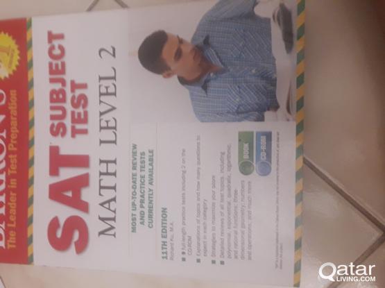 SAT 2 BARRONS MATH