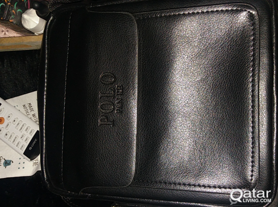 Polo leather bag brand new