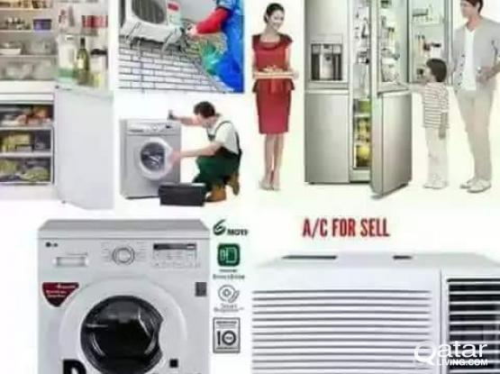 Washing machine, fridge and AC repair service. Please call/whatsapp us anytime 30224562