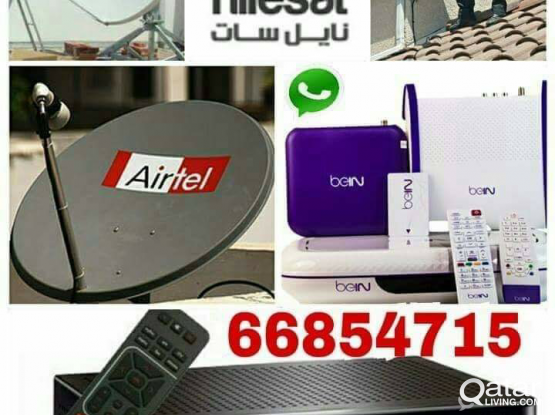 I do any satellite dish tv work & Dish, receiver sell.and CCTV Camera works best, your need installation, just call & what's app me 66854715