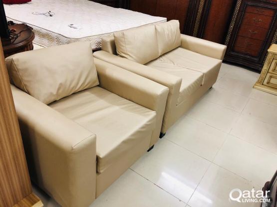 sofa set 3+2+1 Rexine