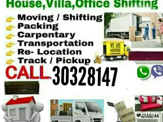 30328147House,villa,office shifting & moving carpenter pickup service call me 30328147