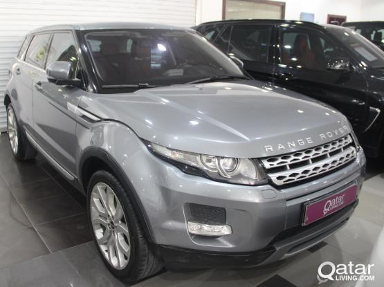 Land Rover Evoque Standard 2012
