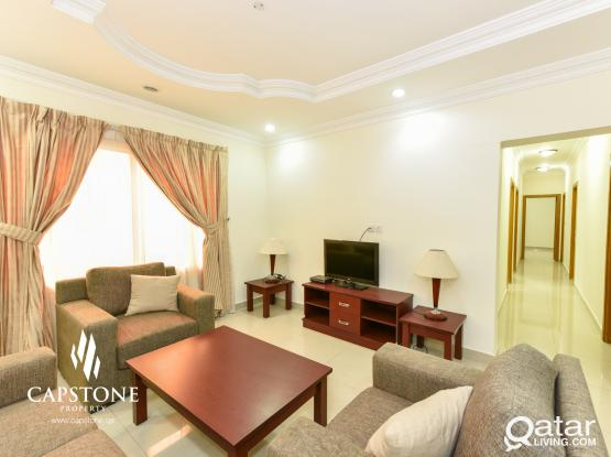 FREE ONE MONTH! Furnished 3BR in Al Sadd