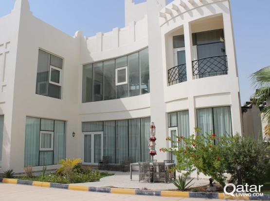 luxurious compound villa in westbay