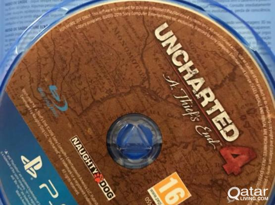 UNCHARTED 4, PS4 GAMES