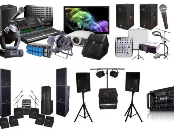 SOUND,LIGHT,PROJECTOR,LED'TV