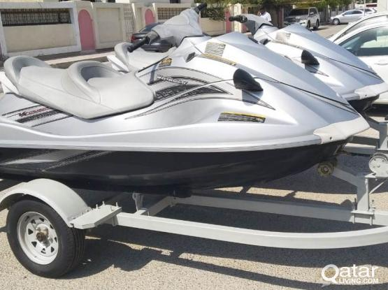 2 Nos. fairly family used Yamaha Water Vehicle 4 Stroke (Jetski) for Sale