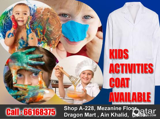 KIDS /STUDENT  LAB COAT ARE AVAILABLE