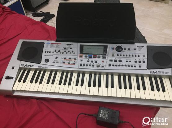 For sale Roland EM55or keyboard