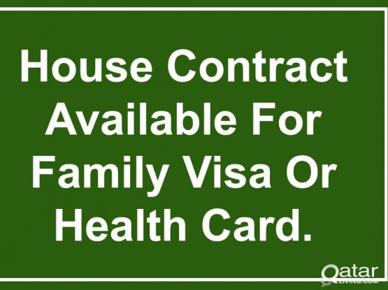 66677952- 100% Guarantee Rent Contract For Family Visa/Health Card With Baladiya Attestion.