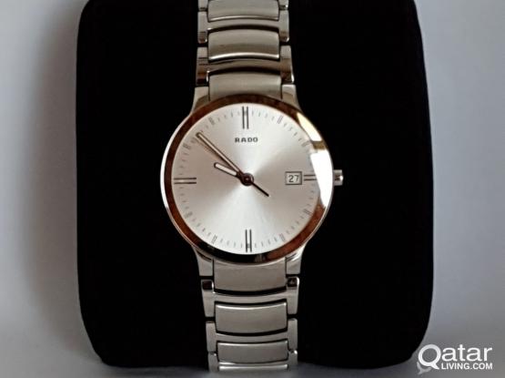 Rado silver colour mens watch