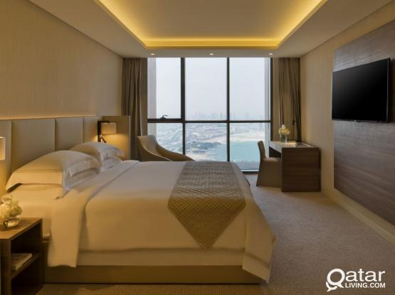Luxurious Fully Furnished Three Bedroom Suite in West Bay