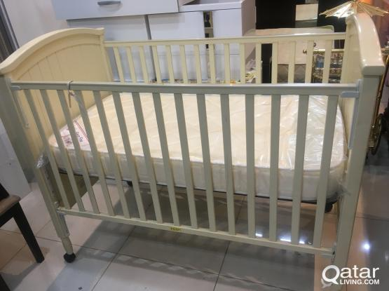 Baby Bed With new mattress For sell Urgent