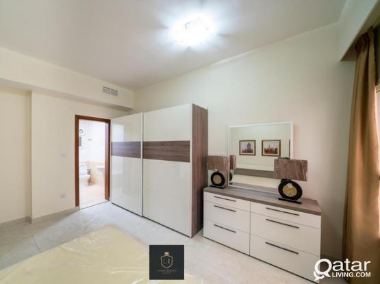 FULLY FURNISHED 2 BED ROOM APARTMENT FOR RENT AT MUMTHAZA