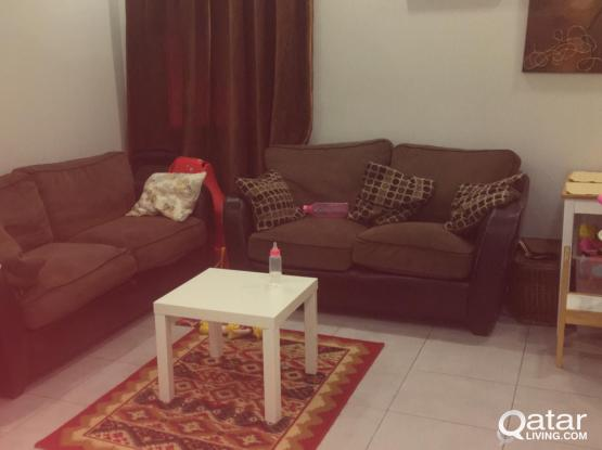 2bhk fully furnished flat for rent Executive bachelor for month of August