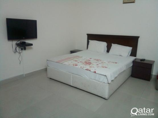 Fully Furnished Studio Free Water and Electricity & WIFI in Mansoura