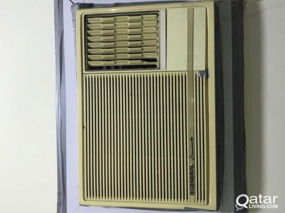 window A/C good condition available @hilal