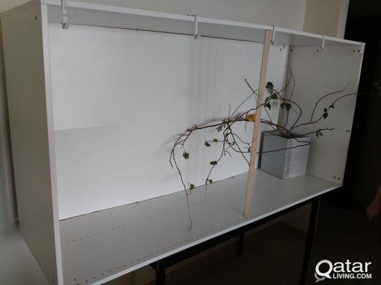 Large Cage for Bird made from IKEA Shelf