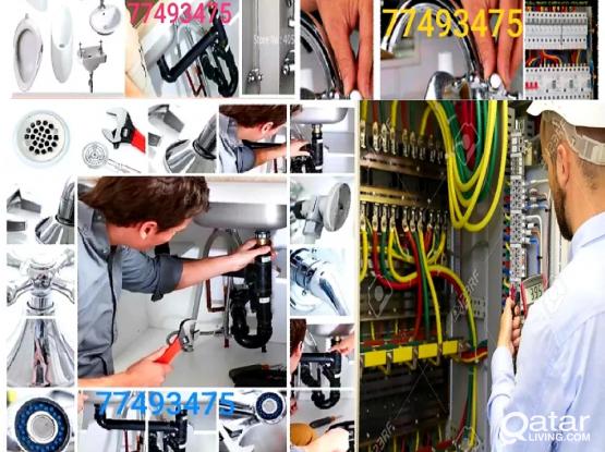 Electric/Plumbing Work you need call :77493475