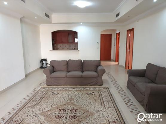 Furnished 1 bed room apartment in Porto Arabia for rent