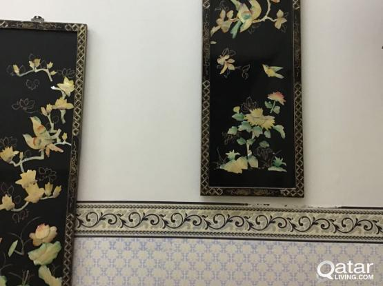 4 items for wall decoration