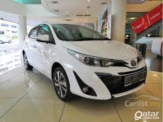 SUMMER OFFER !! Rent a brand new toyota yaris 2019 on 1700 QR per month