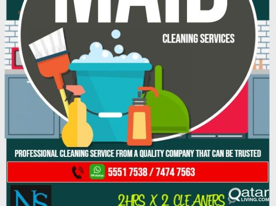 Filipina Female Cleaners/Maids Available