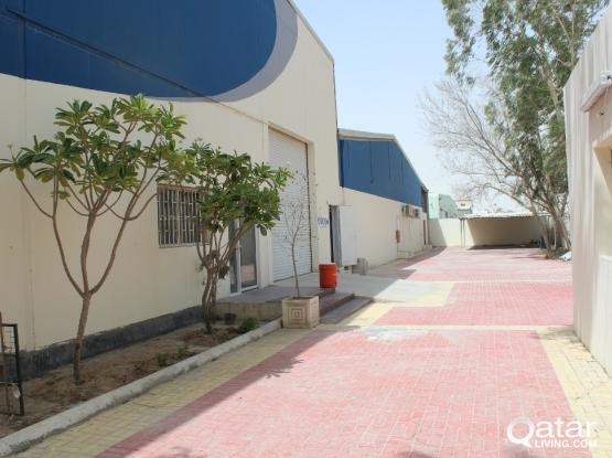 4300 SQUARE METER FOD STORE FOR RENT IN INDUSTRIAL AREA