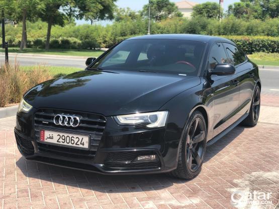 Audi A5 S-Line 2014