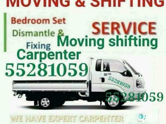 Low Price House Moving shifting Carpenter service