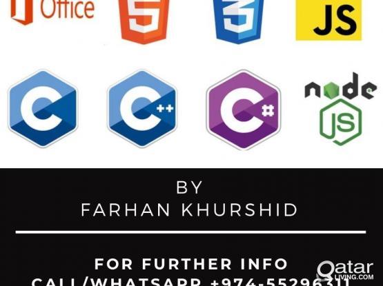 Computer Programming (C#, JavaScript, Java, Visual Basic)