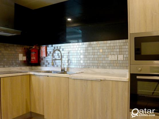 100189 One Month Free Luxury Brand New Studio Apartment for Rent in Pearl