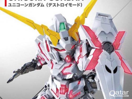 GUNDAM SD Bandai Kits For Sale
