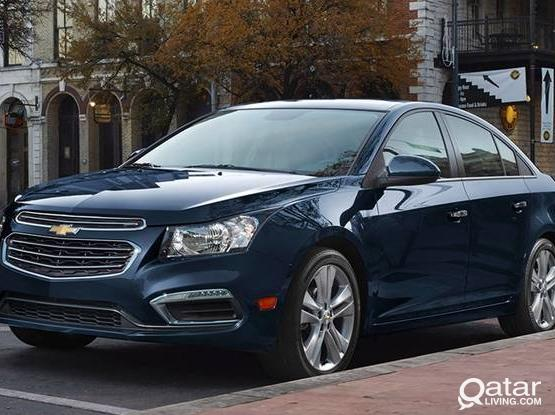 PAY MONEY WITH SATISFIED HEART CHEVEROLET CRUZE 2017 ONLY 1500 QR PER MONTH.